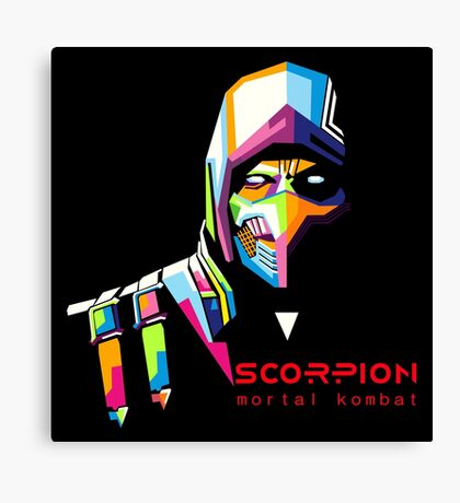 Mortal Kombat - Scorpion Canvas Print