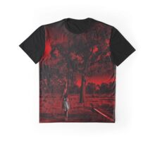 Where The Road Ends She Begins Graphic T-Shirt