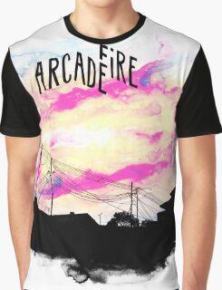 Arcade Fire T-shirt Graphic T-Shirt