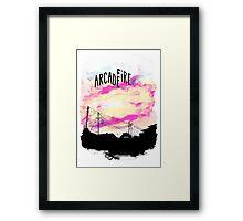 Arcade Fire T-shirt Framed Print