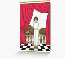 Downton Bride Greeting Card