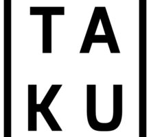 TA-KU Sticker