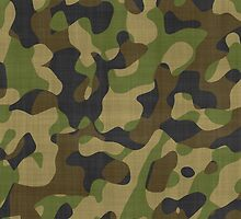 Camouflage, Camo, Military, Hunters Pattern phone cases by Val  Brackenridge