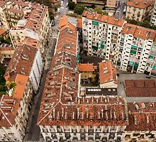 Torino from above by Amber Elen-Forbat
