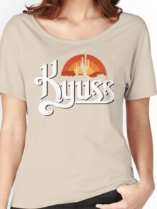 KYUSS BLACK WIDOW STONER ROCK QUEENS OF THE STONE AGE CLUTCH Women's Relaxed Fit T-Shirt