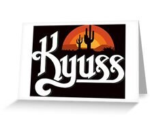 KYUSS BLACK WIDOW STONER ROCK QUEENS OF THE STONE AGE CLUTCH Greeting Card