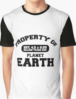 Property of Earth (Classic) Graphic T-Shirt