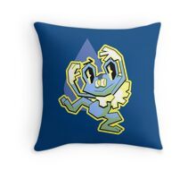 HEY FROAKIE Throw Pillow