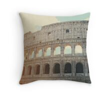 Roma - Coliseum Throw Pillow