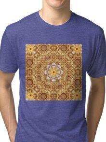 Amber Mandala Tri-blend T-Shirt