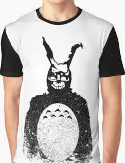 Donnie Darko Totoro Mash Up Graphic T-Shirt