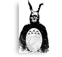 Donnie Darko Totoro Mash Up Canvas Print