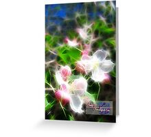 essence of spring Greeting Card