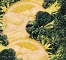 Broccoli Mountain Sticker
