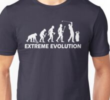 Funny Golf Extreme Evolution Unisex T-Shirt