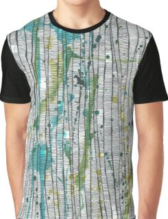 Green Lines Graphic T-Shirt
