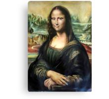Monna Lisa after Leonardo da Vinci Canvas Print