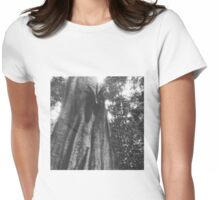 Rainforest tree Womens Fitted T-Shirt