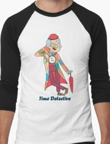 time detective Men's Baseball ¾ T-Shirt