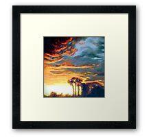 Outback Light Framed Print