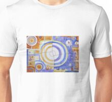 Puzzle Painting Day and Night Unisex T-Shirt