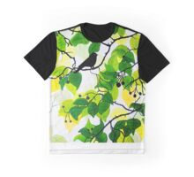 Bird in the Bush Graphic T-Shirt