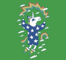 Unicorn Wizard Kids Tee
