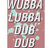 dubdub Photographic Print