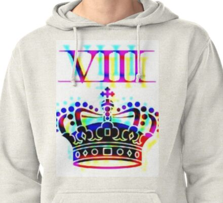 CROWN BITCH TECHNICOLOR Pullover Hoodie