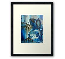 The Blue Giant Framed Print