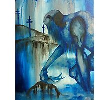 The Blue Giant Photographic Print