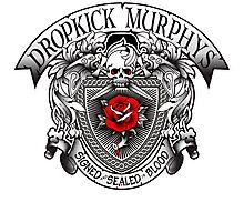 dropkick murphys signed sealed blood Photographic Print