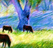 Cattle Around Bourke by coreysart