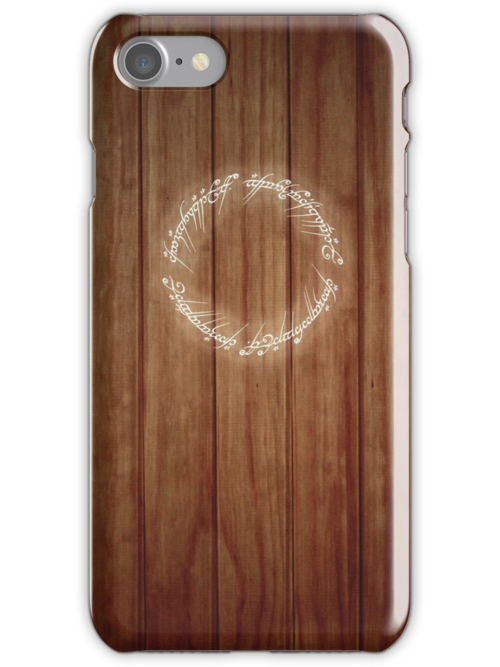 The One Ring iPhone case by Sarah  Mac
