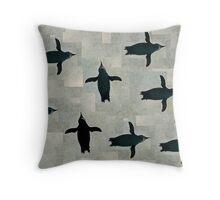 Penguin 2 Throw Pillow