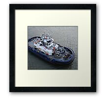 Crossing the Canal 2 Framed Print