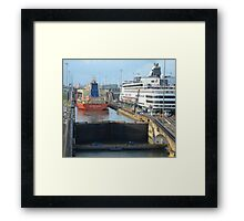 Crossing the Canal 1 Framed Print