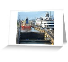 Crossing the Canal 1 Greeting Card
