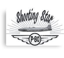 Shooting Star P-80 Canvas Print
