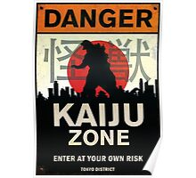 Kaiju Zone Poster
