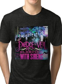 pierce the veil sleeping sirens Tri-blend T-Shirt