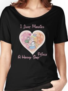 Just Married A Horny Prince Women's Relaxed Fit T-Shirt
