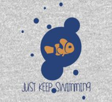 KEEP SWIMMING  One Piece - Long Sleeve