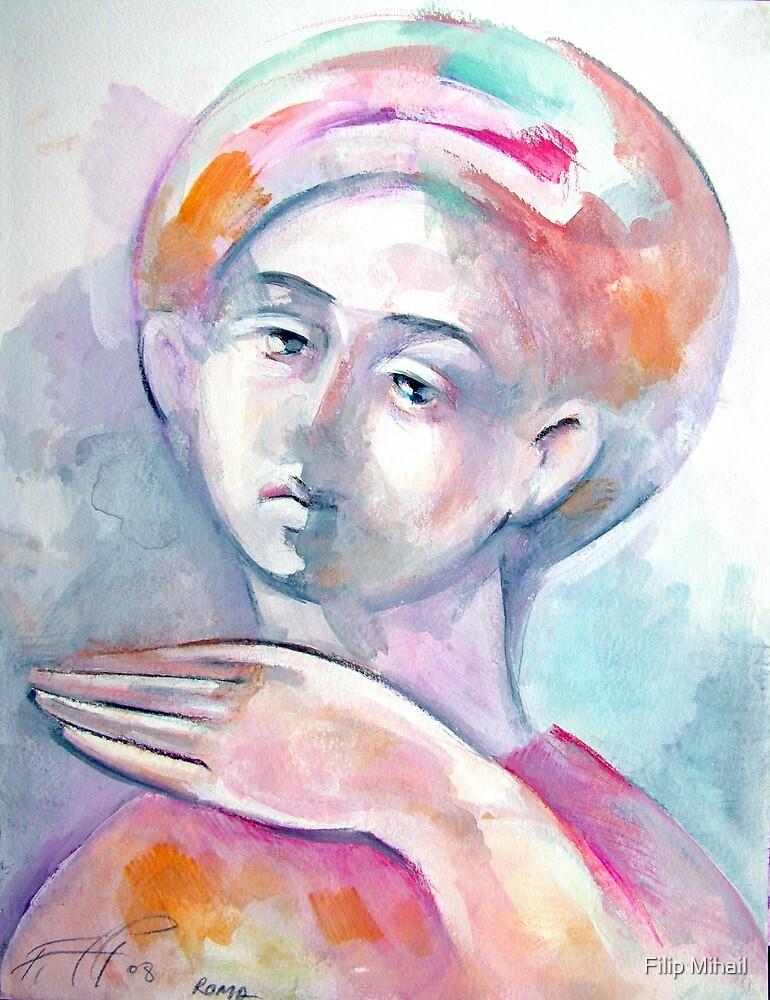 Roman Boy's Head by Filip Mihail