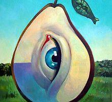 Seeing Pear by painterflipper