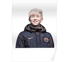 orange namjoon/rap monster Poster