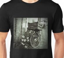 Bike with a Basket Unisex T-Shirt