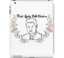 First Lady Bill Clinton iPad Case/Skin