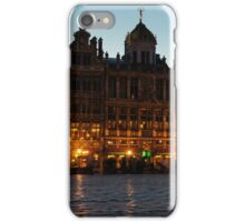 Brussels - Grand Place Facades Golden Glow iPhone Case/Skin