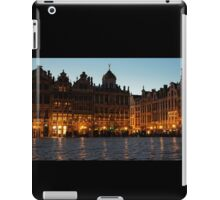 Brussels - Grand Place Facades Golden Glow iPad Case/Skin